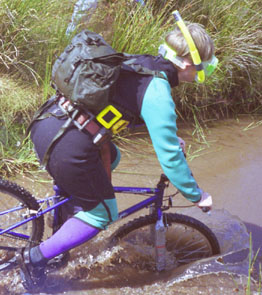 Mountain Bike Bog Snorkelling